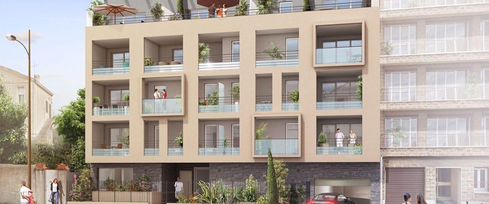 Investir Residence Eden programme neuf a vendre a Marseille