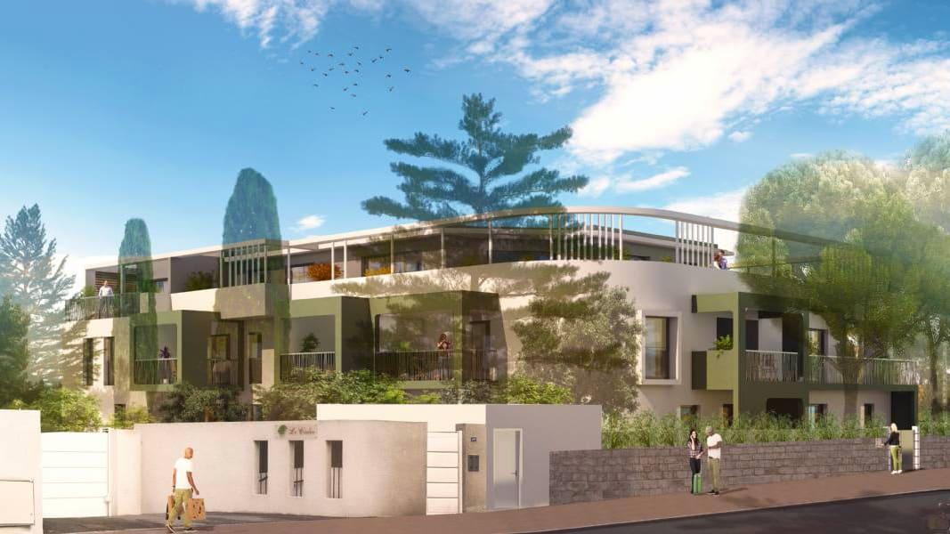 Investissement Pinel Montpellier Résidence Les Dryades Aiguelongue